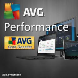 AVG Performance, 1 Year, Win/Mac/Android, English