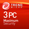 Trend Micro Maximum Security 3 Dispositivi 1 Ann