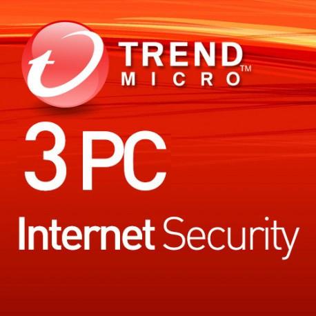 Trend Micro Internet Security 3 PC 1 Rok