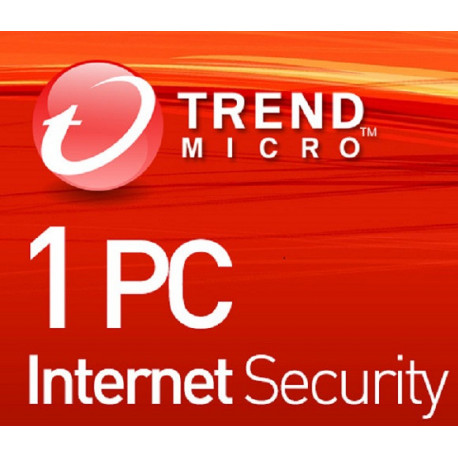 Trend Micro Internet Security 1 PC 1 Rok