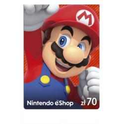 Kod podarunkowy Nintendo 70zł